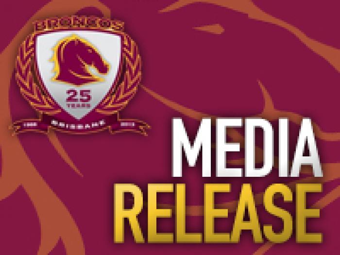 Broncos Media Release