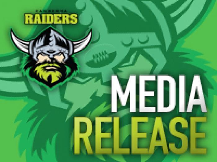 Raiders Media Release