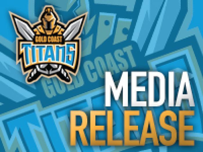 Titans Media Release