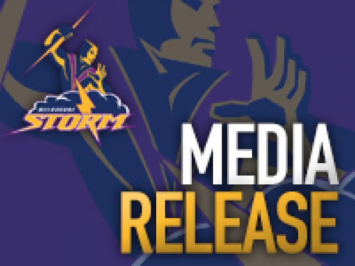 Storm Media Release