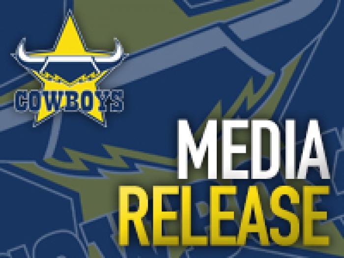Cowboys Media Release