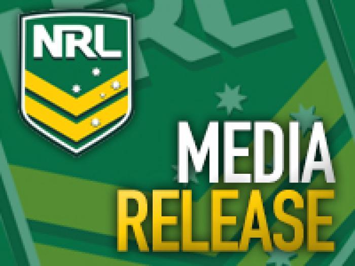 NRL Media Release