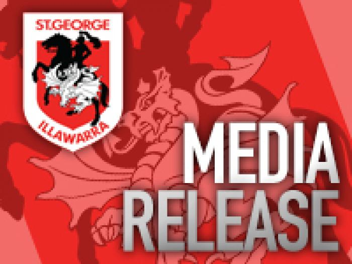 Dragons MediaRelease
