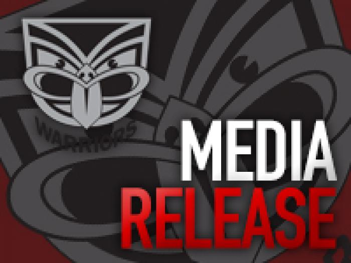 Warriors Media Release