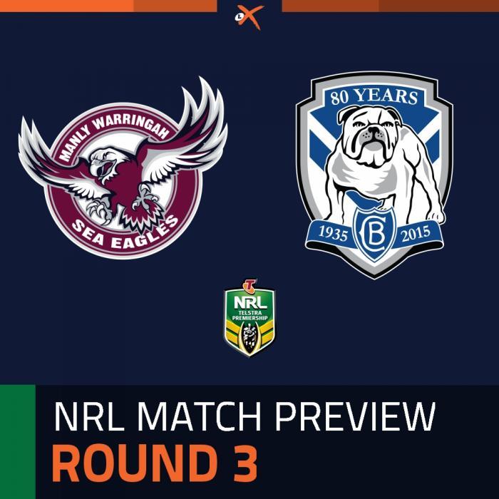 Manly-Warringah Sea Eagles v Canterbury-Bankstown Bulldogs