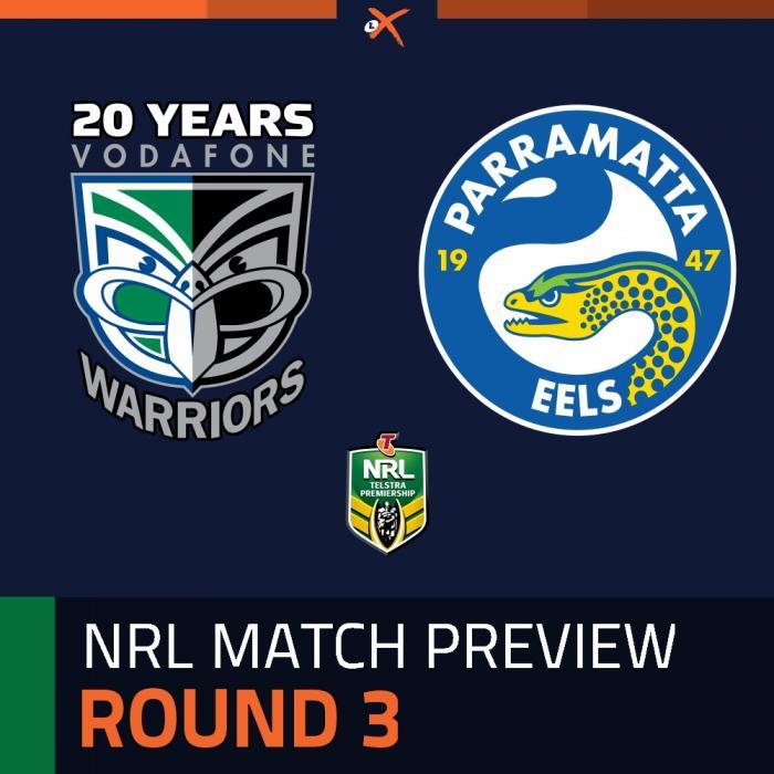 Warriors v Parramatta Eels