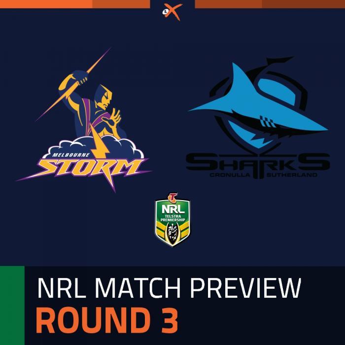 Melbourne Storm v Cronulla-Sutherland Sharks