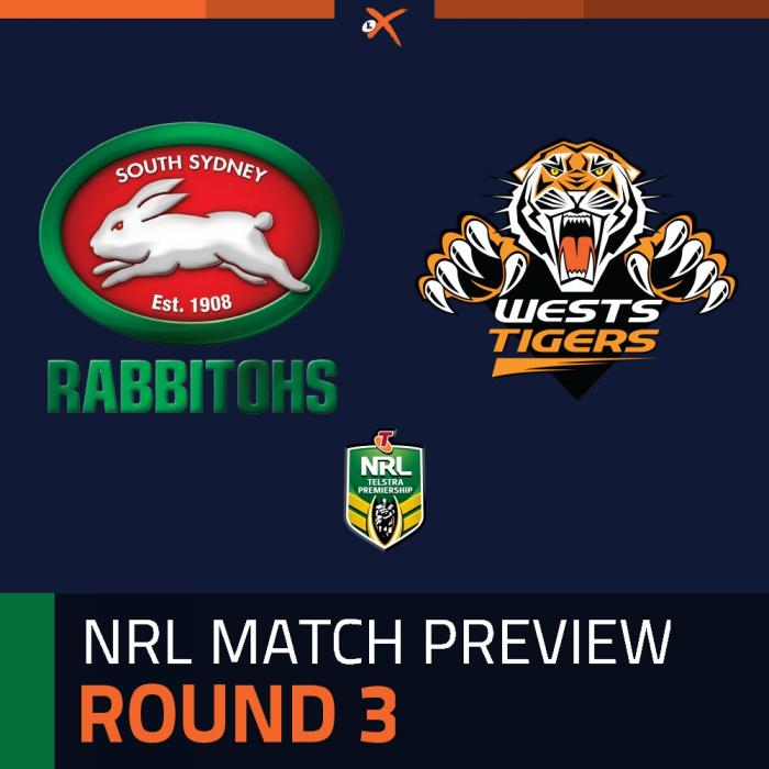 South Sydney Rabbitohs v Wests Tigers