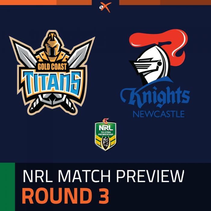 Gold Coast Titans v Newcastle Knights