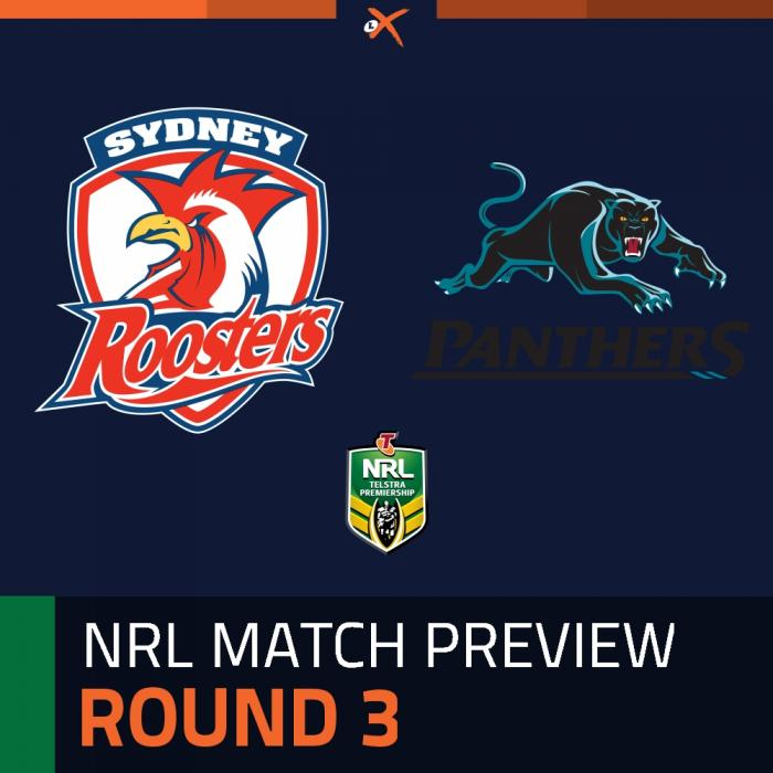 Sydney Roosters v Penrith Panthers