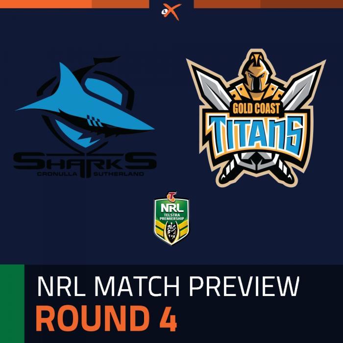 Cronulla-Sutherland Sharks v Gold Coast Titans
