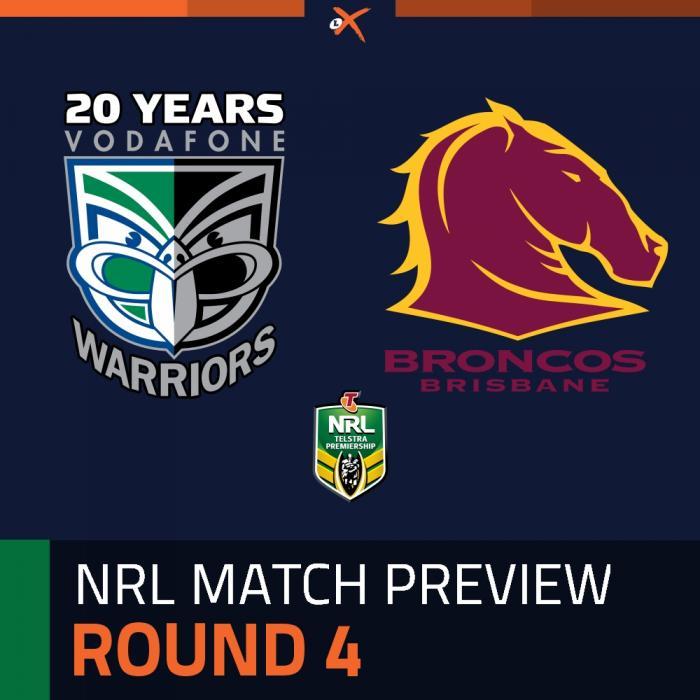 Warriors v Brisbane Broncos