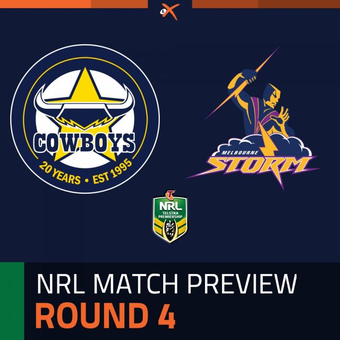 North Queensland Cowboys v Melbourne Storm