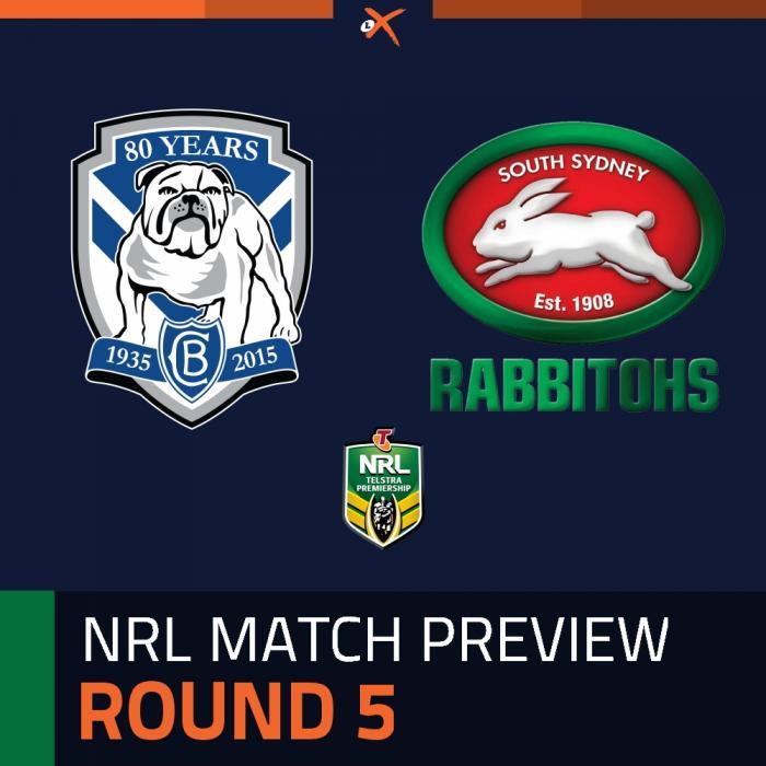 Canterbury-Bankstown Bulldogs v South Sydney Rabbitohs