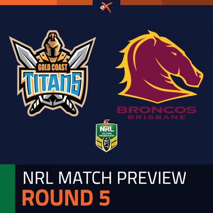 Gold Coast Titans v Brisbane Broncos