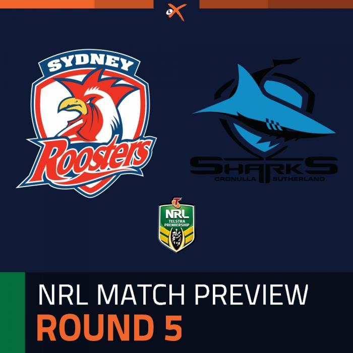 Sydney Roosters v Cronulla-Sutherland Sharks