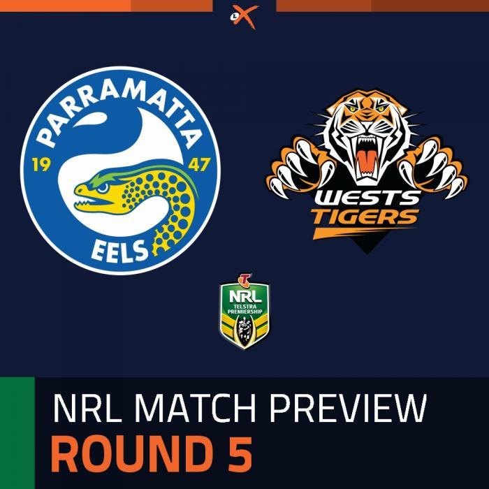 Parramatta Eels v Wests Tigers