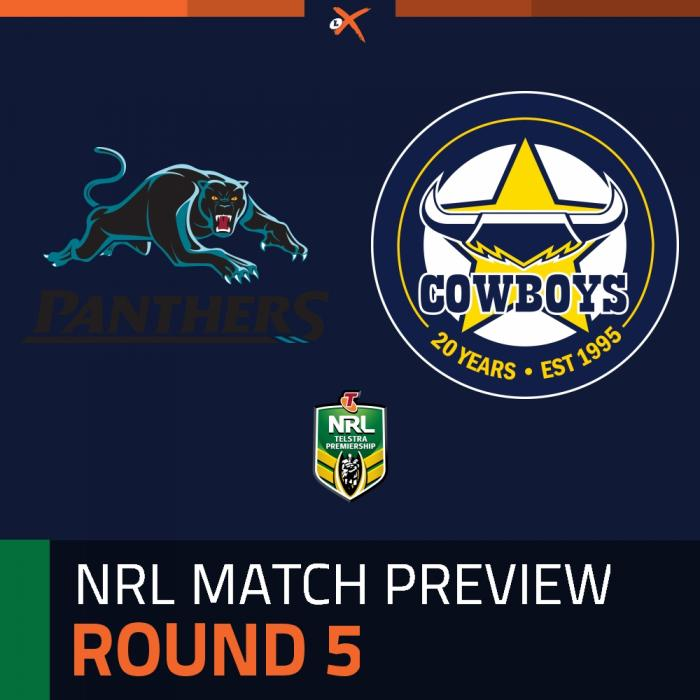 Penrith Panthers v North Queensland Cowboys