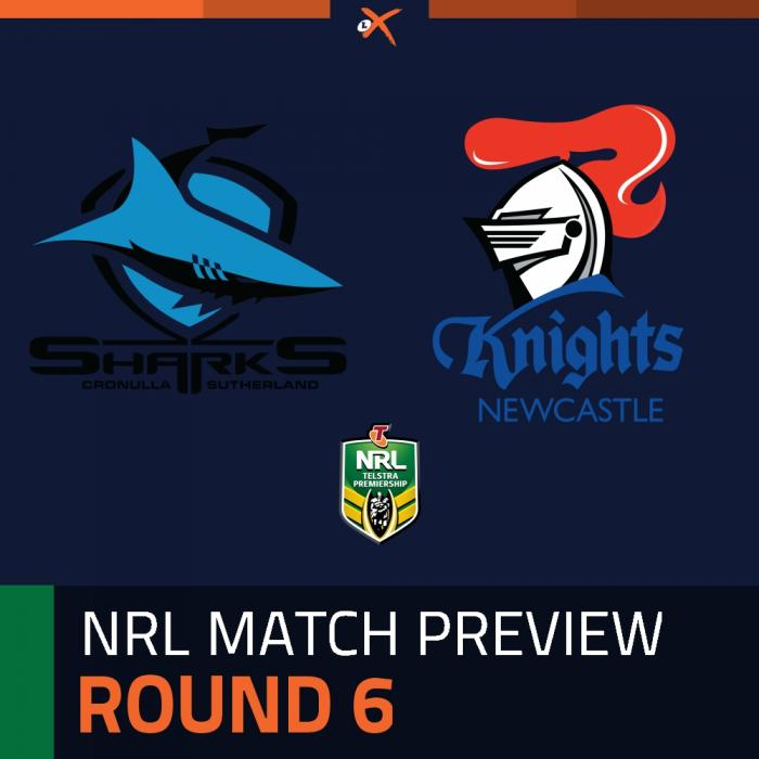 Cronulla-Sutherland Sharks v Newcastle Knights