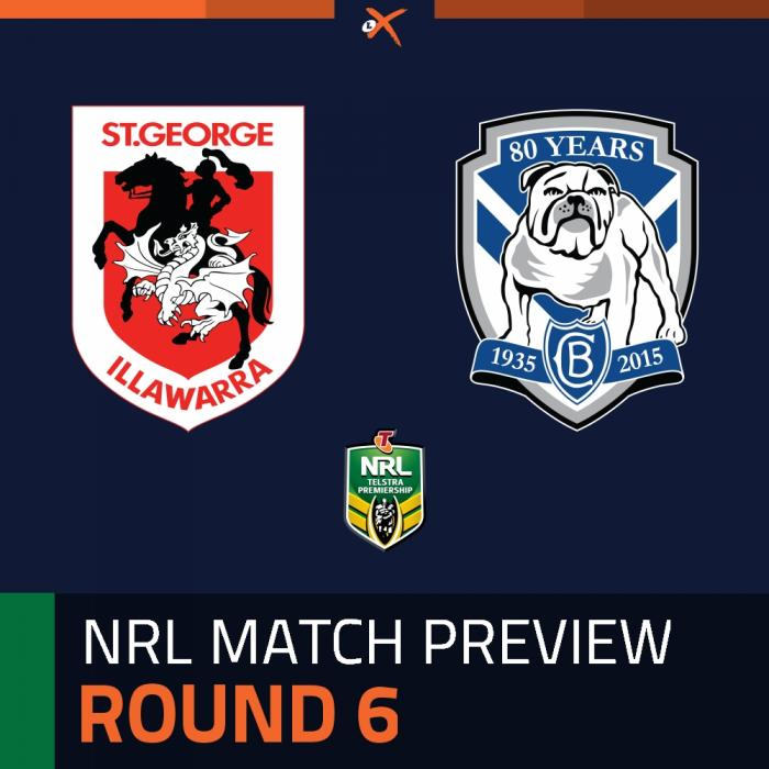 St. George Illawarra Dragons v Canterbury-Bankstown Bulldogs