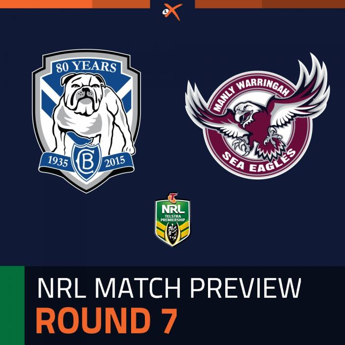 Canterbury-Bankstown Bulldogs v Manly-Warringah Sea Eagles