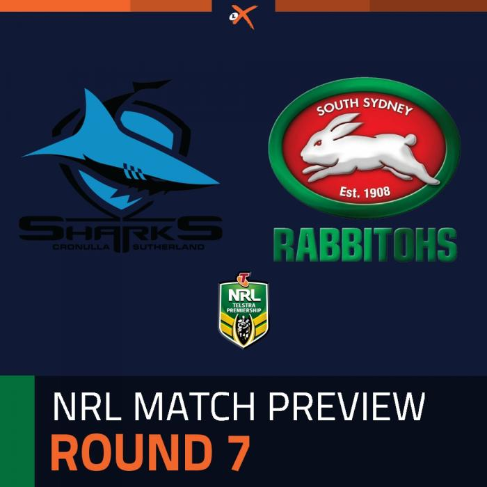 Cronulla-Sutherland Sharks v South Sydney Rabbitohs