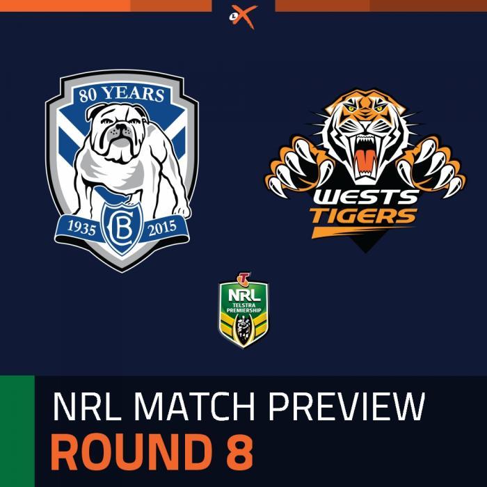 Canterbury-Bankstown Bulldogs v Wests Tigers