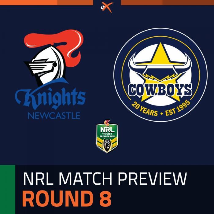 Newcastle Knights v North Queensland Cowboys