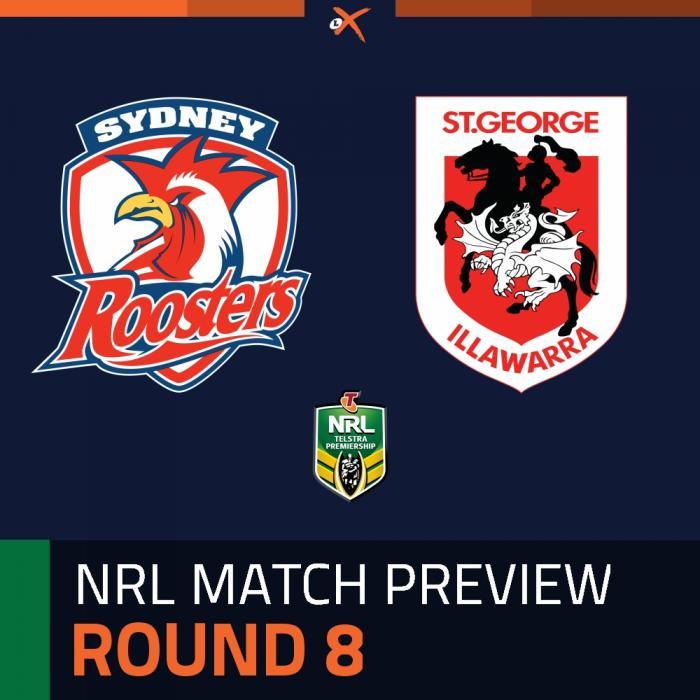 Sydney Roosters v St. George Illawarra Dragons