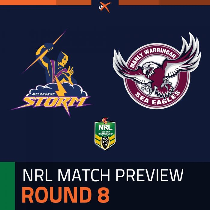 Melbourne Storm v Manly-Warringah Sea Eagles