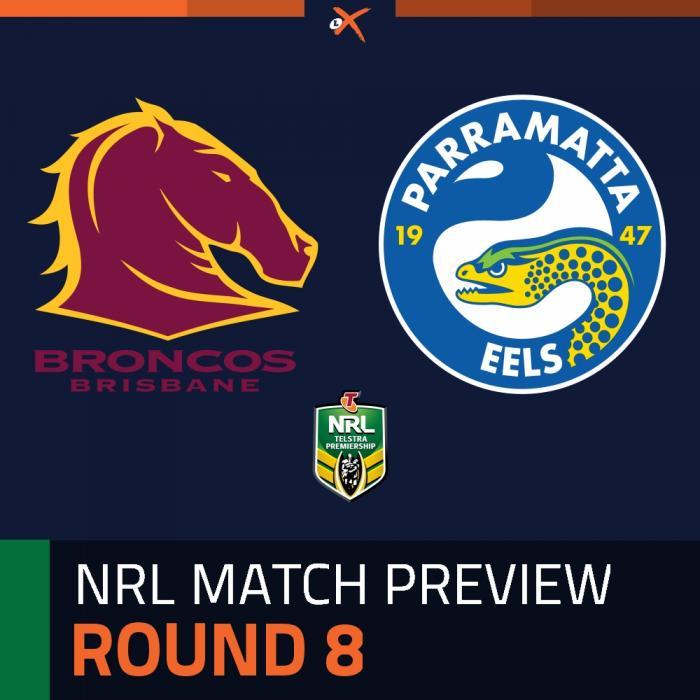 Brisbane Broncos v Parramatta Eels
