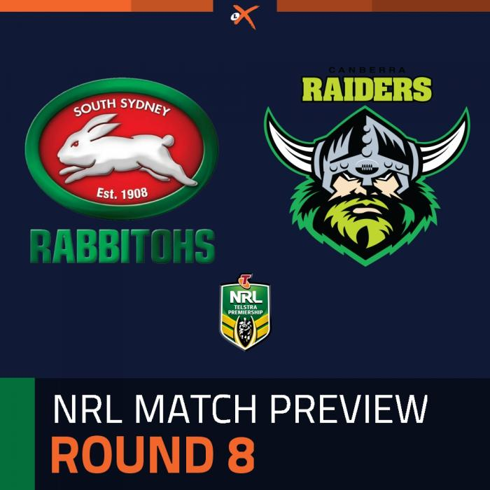 South Sydney Rabbitohs v Canberra Raiders