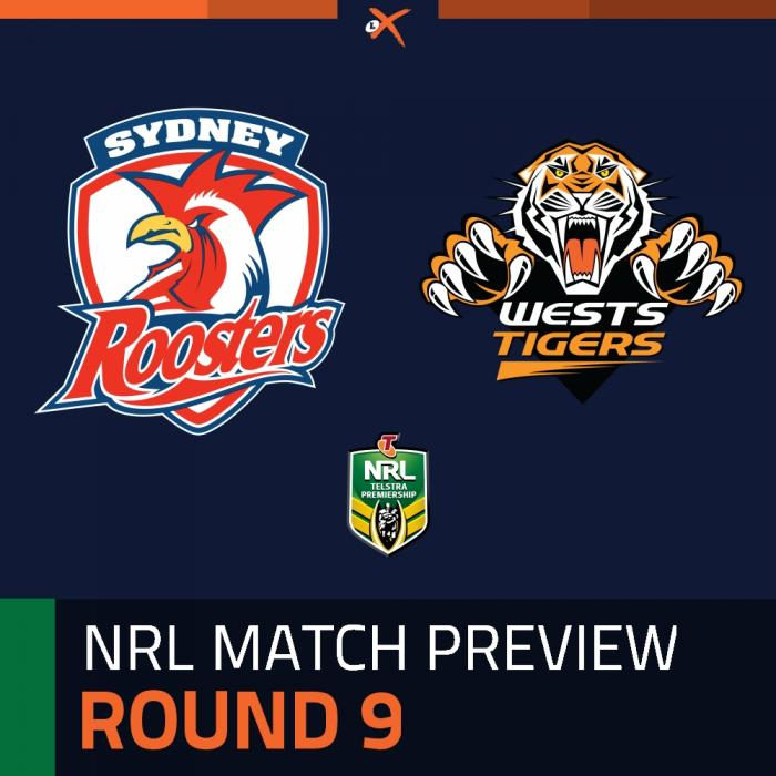 Sydney Roosters v Wests Tigers