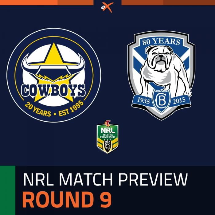 North Queensland Cowboys v Canterbury-Bankstown Bulldogs