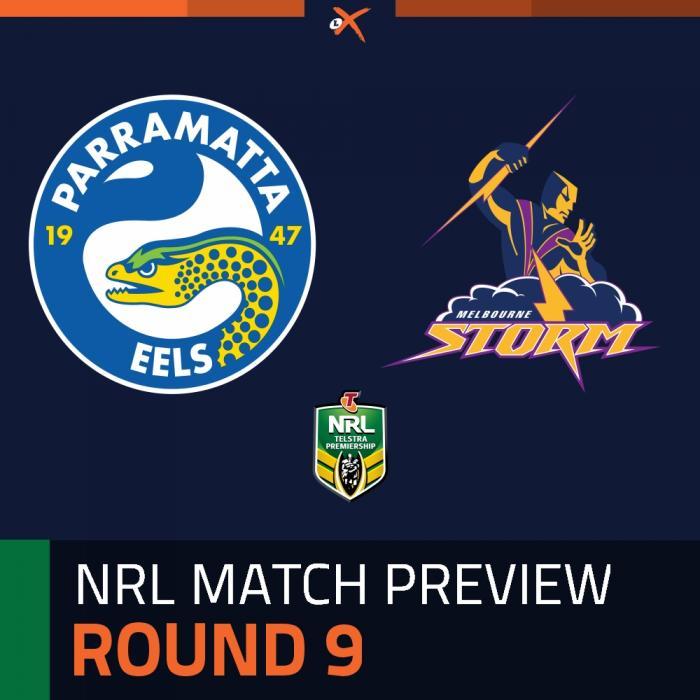 Parramatta Eels v Melbourne Storm