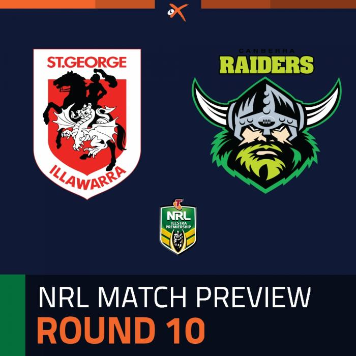 St. George Illawarra Dragons v Canberra Raiders