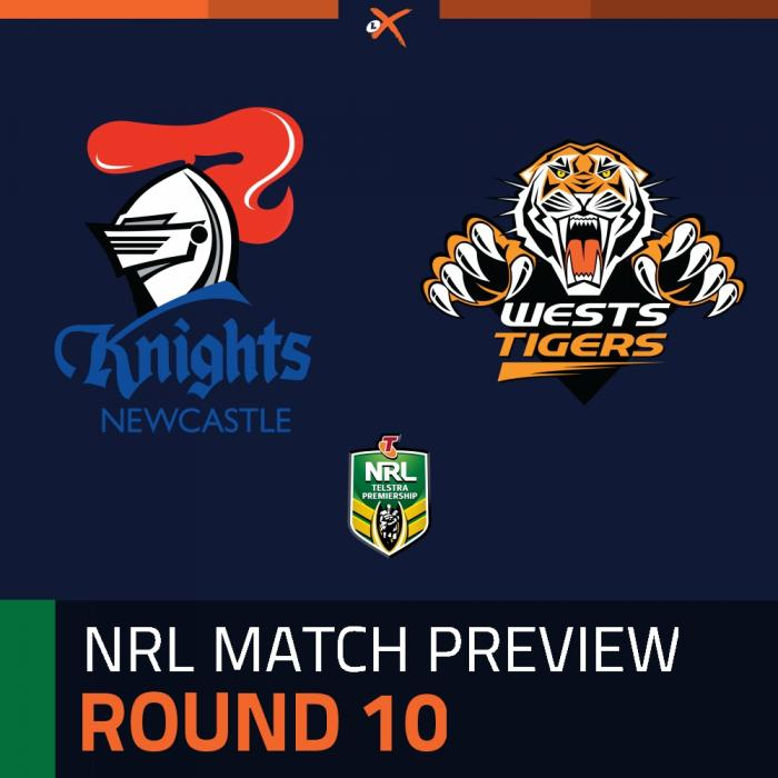 Newcastle Knights v Wests Tigers