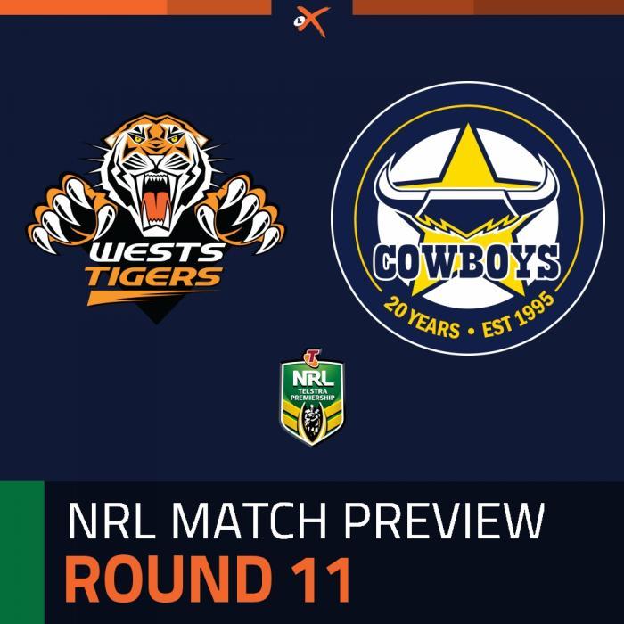 Wests Tigers v North Queensland Cowboys