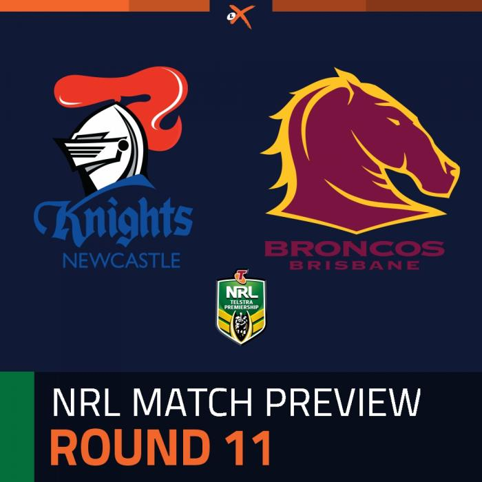 Newcastle Knights v Brisbane Broncos