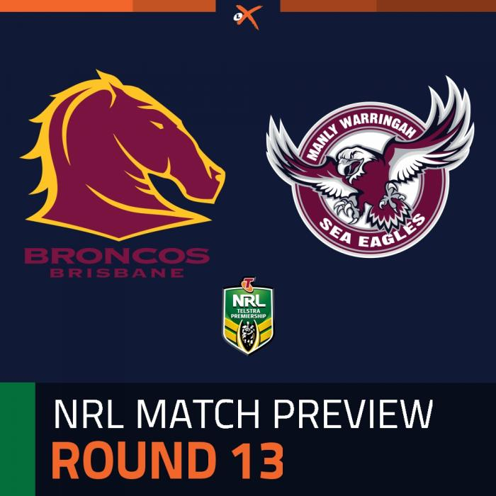 Brisbane Broncos v Manly-Warringah Sea Eagles
