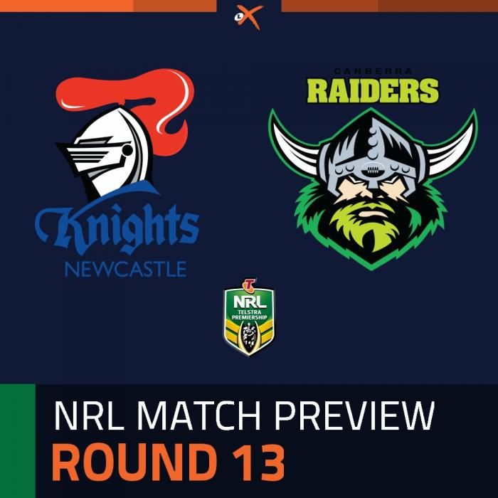 Newcastle Knights v Canberra Raiders