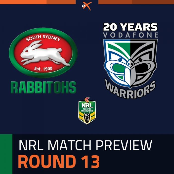 South Sydney Rabbitohs v Warriors