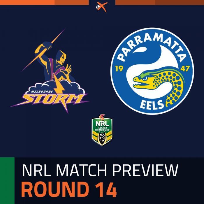 Melbourne Storm v Parramatta Eels