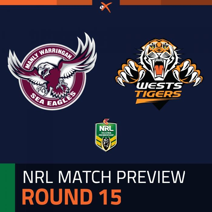 Manly-Warringah Sea Eagles v Wests Tigers
