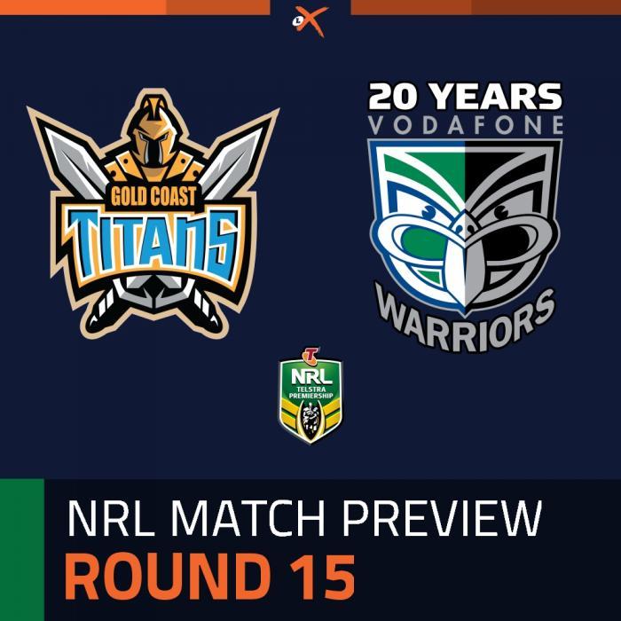 Gold Coast Titans v New Zealand Warriors