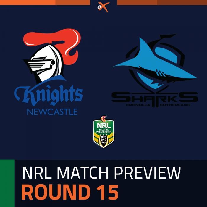 Newcastle Knights v Cronulla-Sutherland Sharks