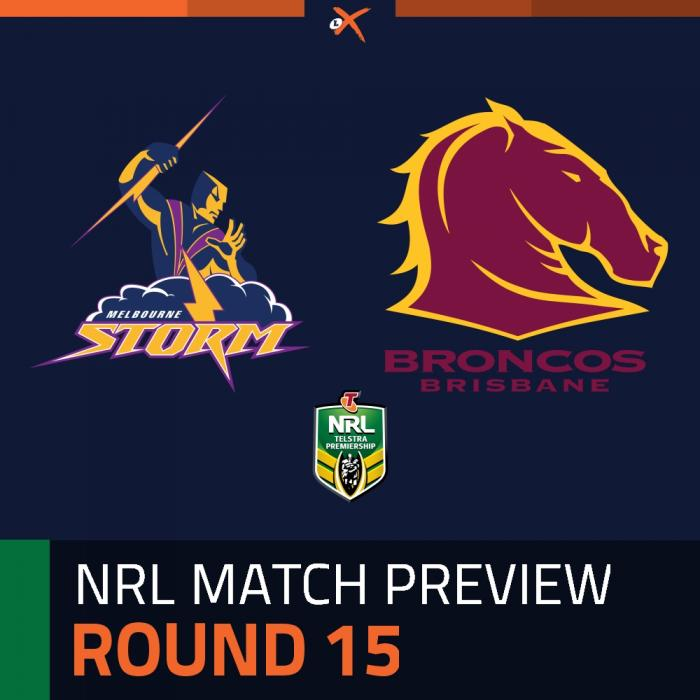 Melbourne Storm v Brisbane Broncos