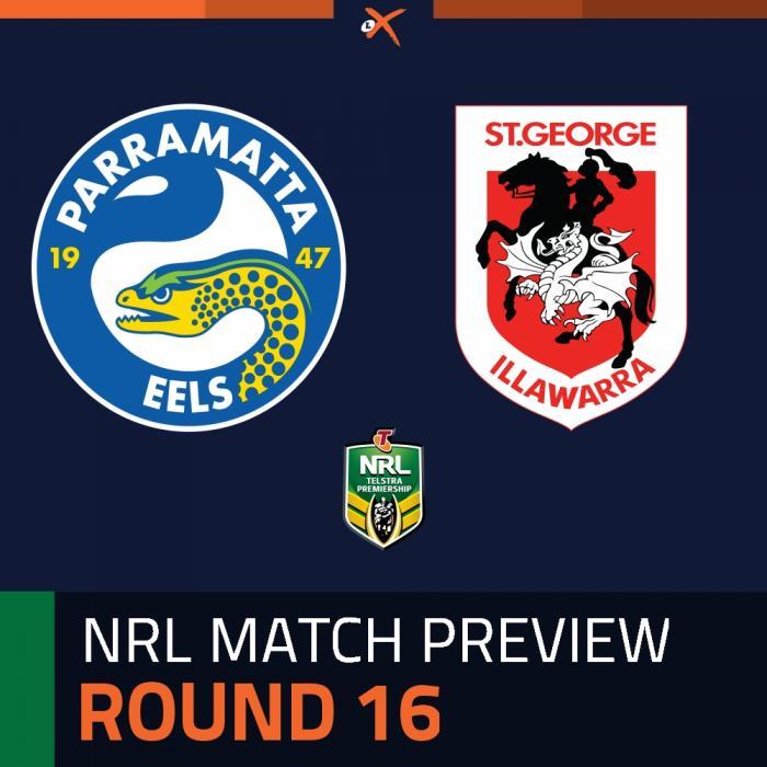 Parramatta Eels v St. George Illawarra Dragons