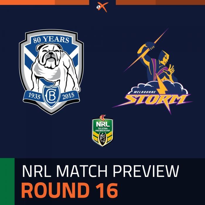 Canterbury-Bankstown Bulldogs v Melbourne Storm