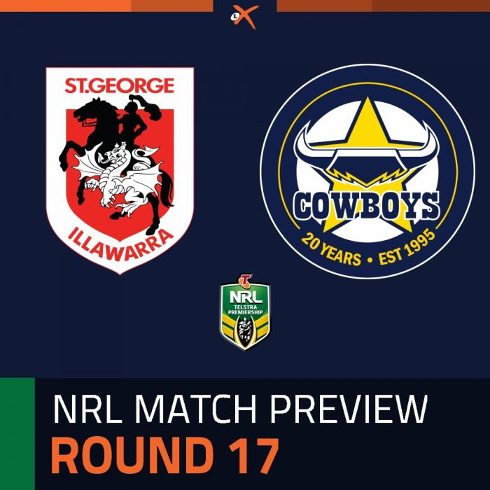 St. George Illawarra Dragons v North Queensland Cowboys